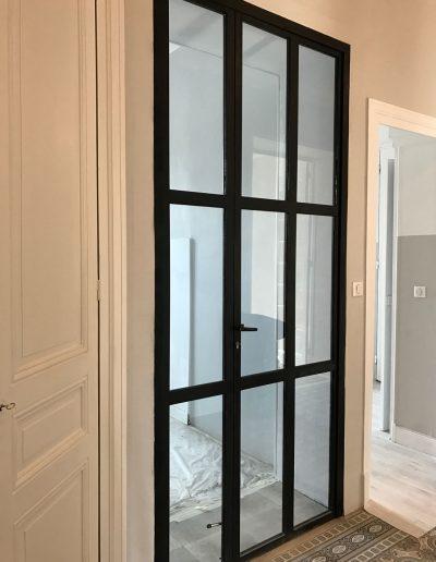 Installation d'une verrière pour un appartement à Grenoble en Isère par Renov'isol