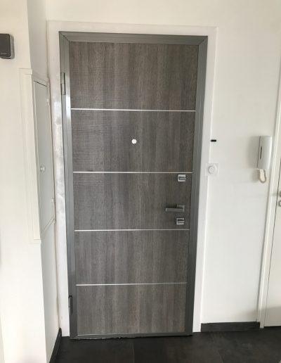 portes blindée installées par Renovisol à Crolles en Isère