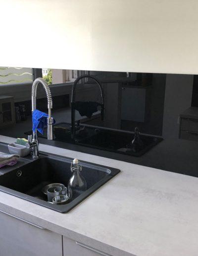 Rénovation d'une cuisine à Fontaine en Isère par par la société Renov'isol